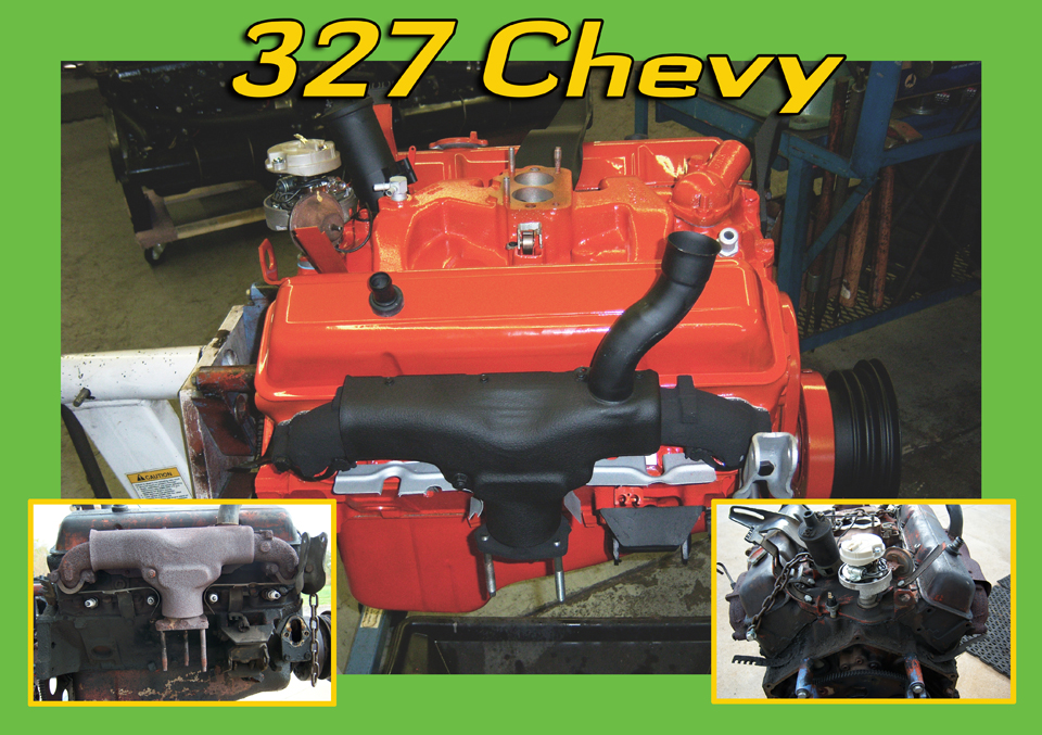 327 chevy engine